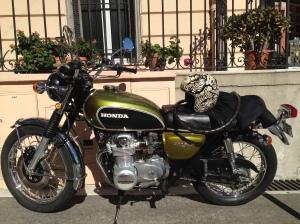 Davids beloved motorcycle